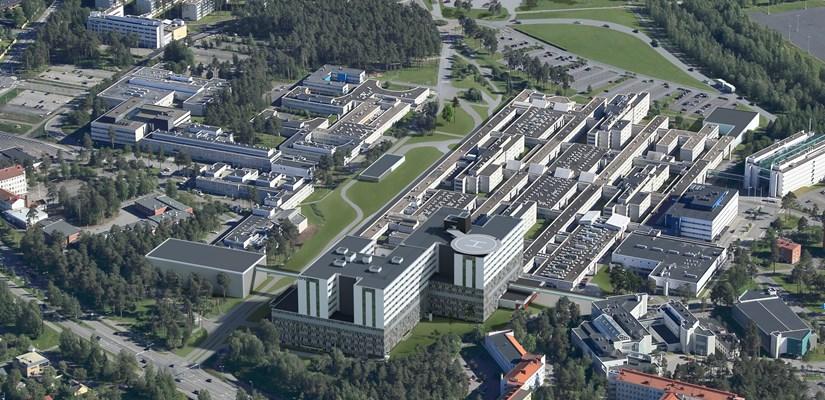 Skanska Ja Caverion Kehittamaan Oys N Tulevaisuuden Sairaalan B