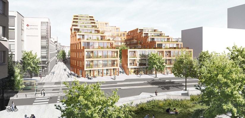 Kilpailun voittajaksi valittiin Arkkitehtuuritoimisto B & M Oy työllään Step by Step